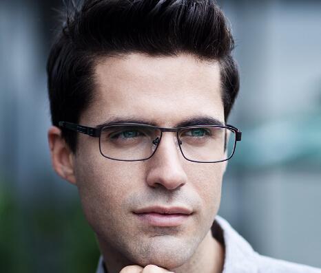 男士近视眼镜架搭配脸型攻略