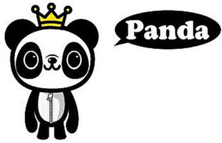 卡通人物panda,一只到处宣传珍惜爱护世界的可爱小熊猫.