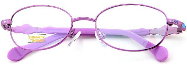 儿童眼镜 休闲 全框近视框架眼镜