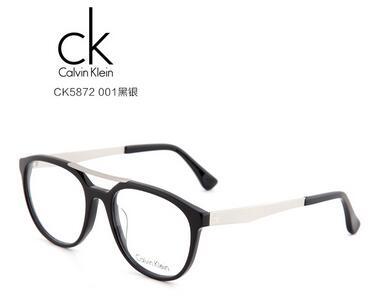 ck ck5872 男士 眼镜框 001黑银
