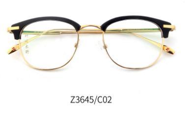 竹川木野_竹川木野 z3645 男女通用 眼镜框 c02黑金