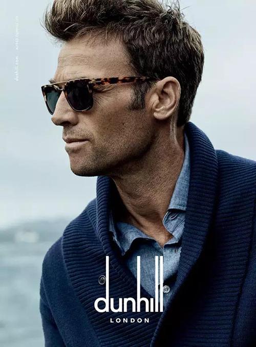 绅士春日出游必备dunhill品牌眼镜