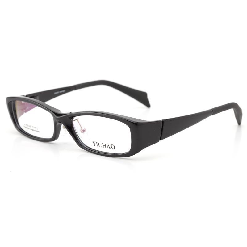 亿超K6806c01黑色 TR90近视眼镜框 男款潮 近视眼镜框