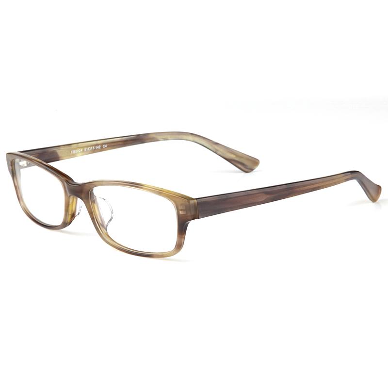 亿超FB5024C4灰色 新品 潮款男士 薄片板材系列眼镜