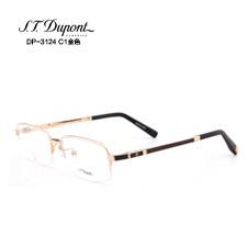 2014新品 都彭潮款 高档男士DP3124C1金色近视眼镜