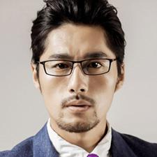 亿超 FG6002 男士 眼镜框 C4亮黑