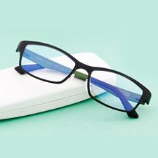 亿超 眼镜框男 超轻近视眼镜女成品全框眼镜架方形配眼镜男