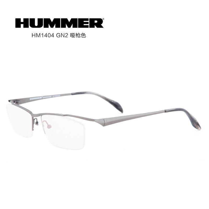 hummer钛hm1404男士近视眼镜框架图片