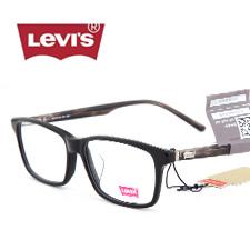 李维斯LS06396ZX黑色C01中性大码休闲近视眼镜架