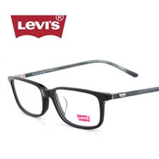 李维斯LS06394ZX黑色C01中性大码休闲近视眼镜架