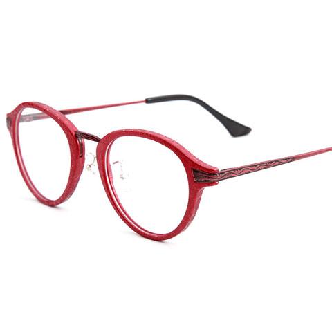 亿超2167红色C6板材潮款均码中性近视镜架