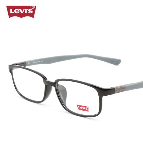 李维斯    LS03002   男女通用   眼镜框   C05亮黑