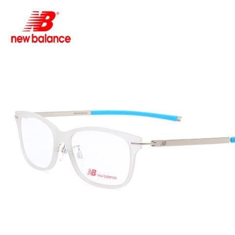新百伦 NB09003 男女通用 眼镜框 白蓝C04