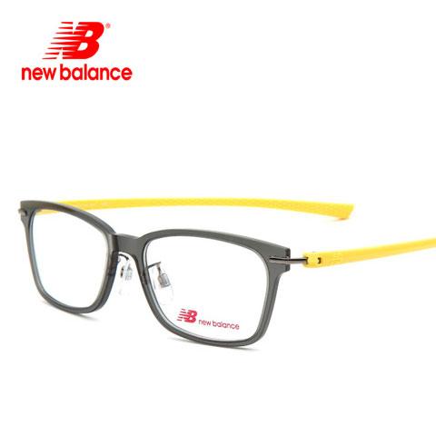 新百伦 NB09001 男女通用 眼镜框 灰黄145