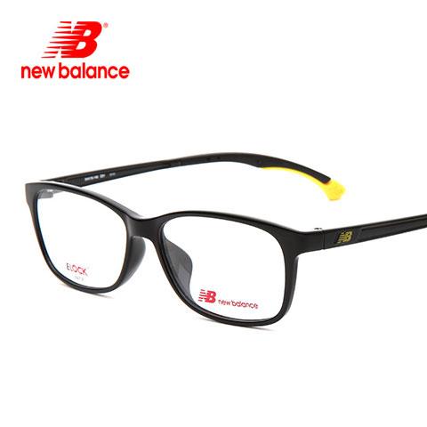 新百伦 NB09014 男女通用 眼镜框 C1亮黑