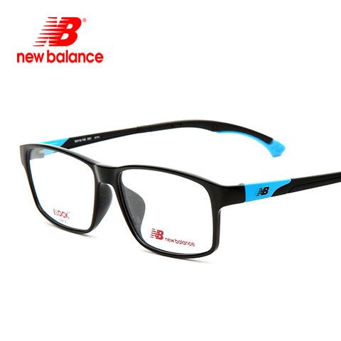 新百伦 NB09016 男女通用 眼镜框 黑蓝C01