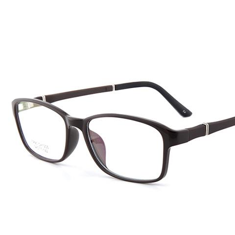 亿超 CH1205 男女通用 眼镜框 C4咖啡