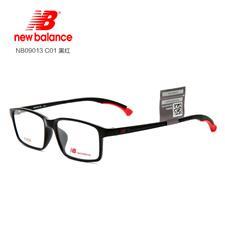 新百伦 NB09013 男女通用 眼镜框 C01黑红