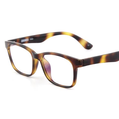 亿超 EP7063 男女通用 眼镜框 C6玳瑁