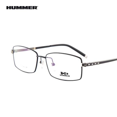 悍马 98001 男士 眼镜框 BK黑