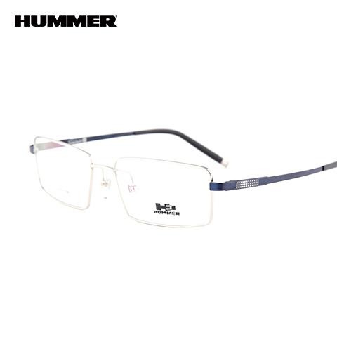 悍马 98003 男士 眼镜框 SR银