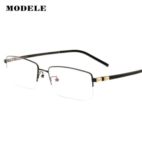 MODELE MODELE12281 男士 眼镜框 BLK黑