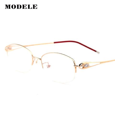MODELE MODELE12284 女士 眼镜框 GD2金