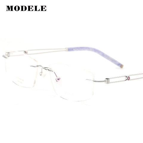 MODELE MODELE12286 女士 眼镜框 SIL银