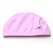 捷佳游泳帽PSC509粉红色 游泳配镜 运动必备 女款 可调节泳帽