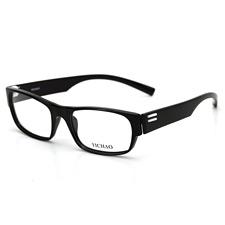 亿超FB5008 C4黑色 休闲全框眼镜架 方框 TR90 近视眼镜框