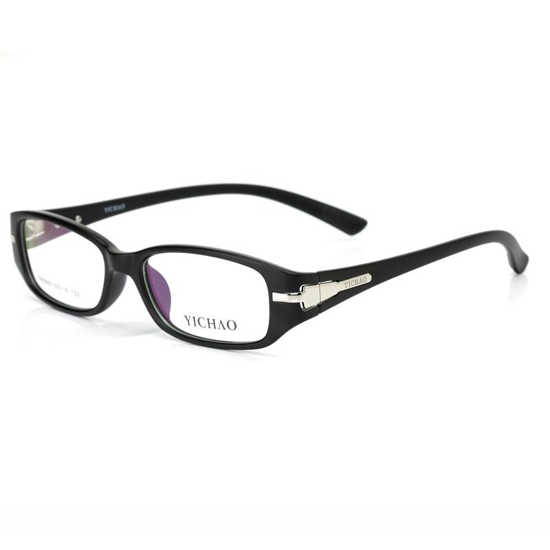 亿超 FR2003C16磨砂黑 潮 非主流 近视眼镜框 TR90全框眼镜