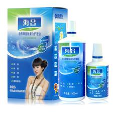 海昌亮洁II代500ML120ML隐形眼镜护理液 清洁消毒 两瓶装