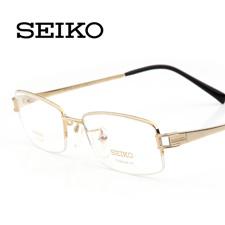 精工 HT1094C01金色 超轻纯钛眼镜架 时尚眼镜框 潮 近视眼镜