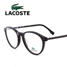 鳄鱼L2718001潮款板材合金全框中码男女通用黑色近视框架眼镜