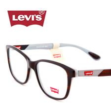 新品李维斯高端板材男女同款全框近视框架眼镜 LS06193C02深棕色