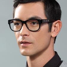 潮人眼镜框 亿超FB5012C4 黑色 装饰眼镜 板材 非主流木腿眼镜