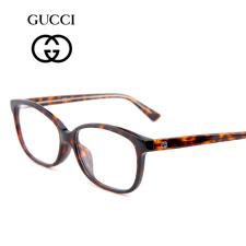 古驰GUCCI板材GG3734/F玳瑁色HNZ全框男士近视眼镜框架