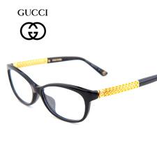 古驰GUCCI板材GG3708/F黑色2XT全框女士近视眼镜框架