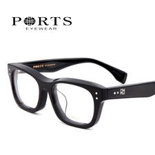 宝姿POM13210黑色BK板材潮款大码中性近视镜架