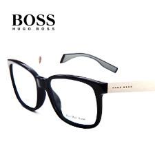 boss0564黑色fb8板材+合金休闲男士近视眼镜架