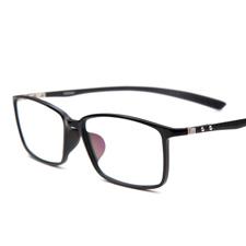 亿超新品FB0016C1黑钨碳全框大码眼镜架