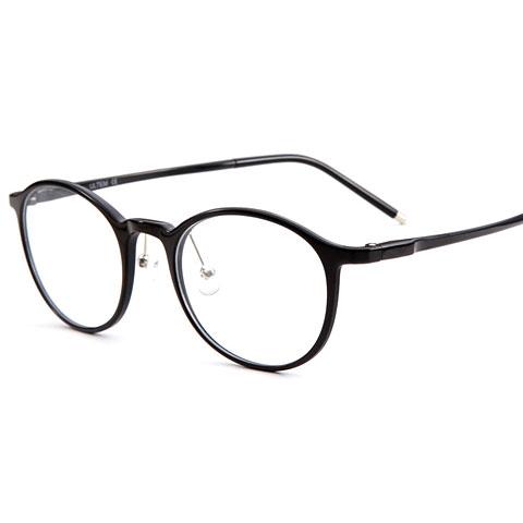 亿超 钨碳 全框眼镜框 黑色 百搭男女通用款 2159C1