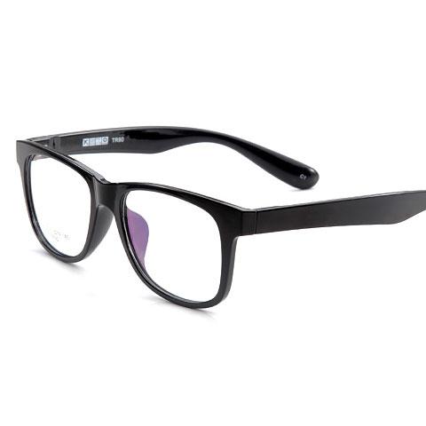 亿超  E9175  男女通用  眼镜框  C1亮黑