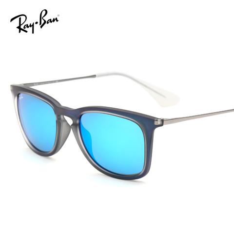 雷朋 RB4221-F 男士 太阳镜 6170/55蓝