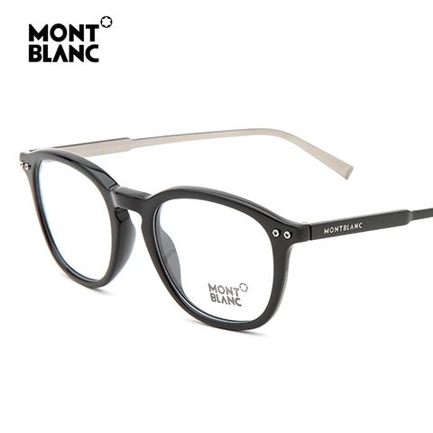 万宝龙 MB614 男士 眼镜框 005黑