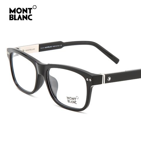 万宝龙 MB618-F 男士 眼镜框 001黑