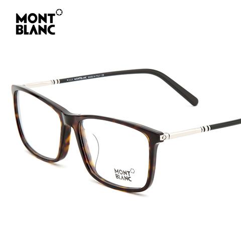 万宝龙 MB626-F 男士 眼镜框 052玳瑁