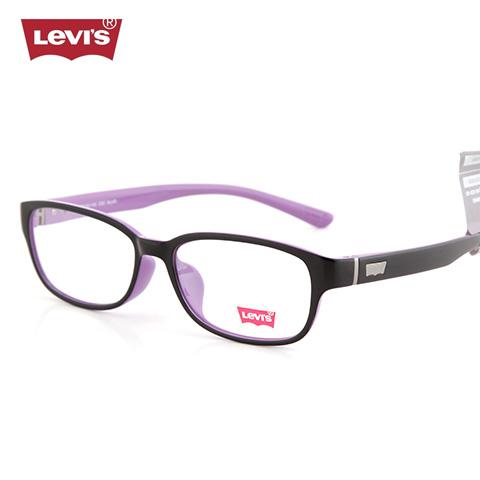 李维斯    LS03007   男女通用   眼镜框   C02外黑内紫