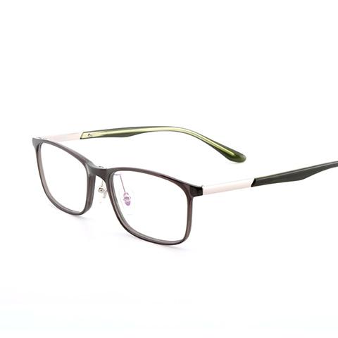 亿超 FB0053 男女通用 眼镜框 C05灰绿