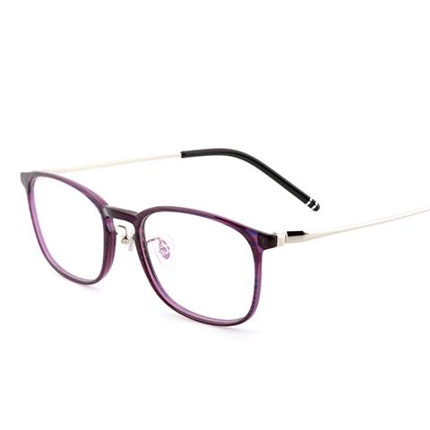 亿超 FB0054 男女通用 眼镜框 C07浅紫银